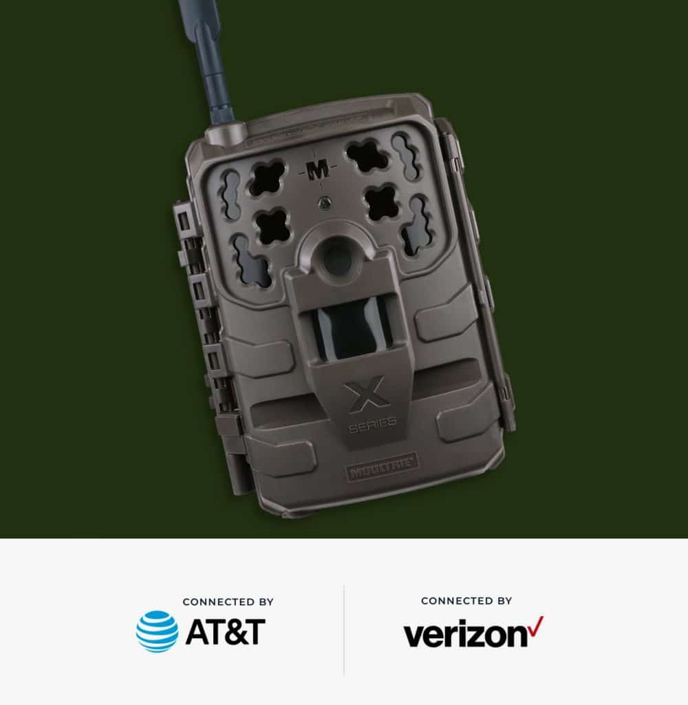 Moultrie X Series Cellular Trail Camera connects with AT&T and Verizon