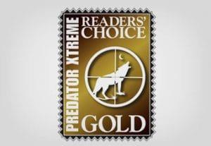 Predator Xtreme Readers' Choice Gold logo