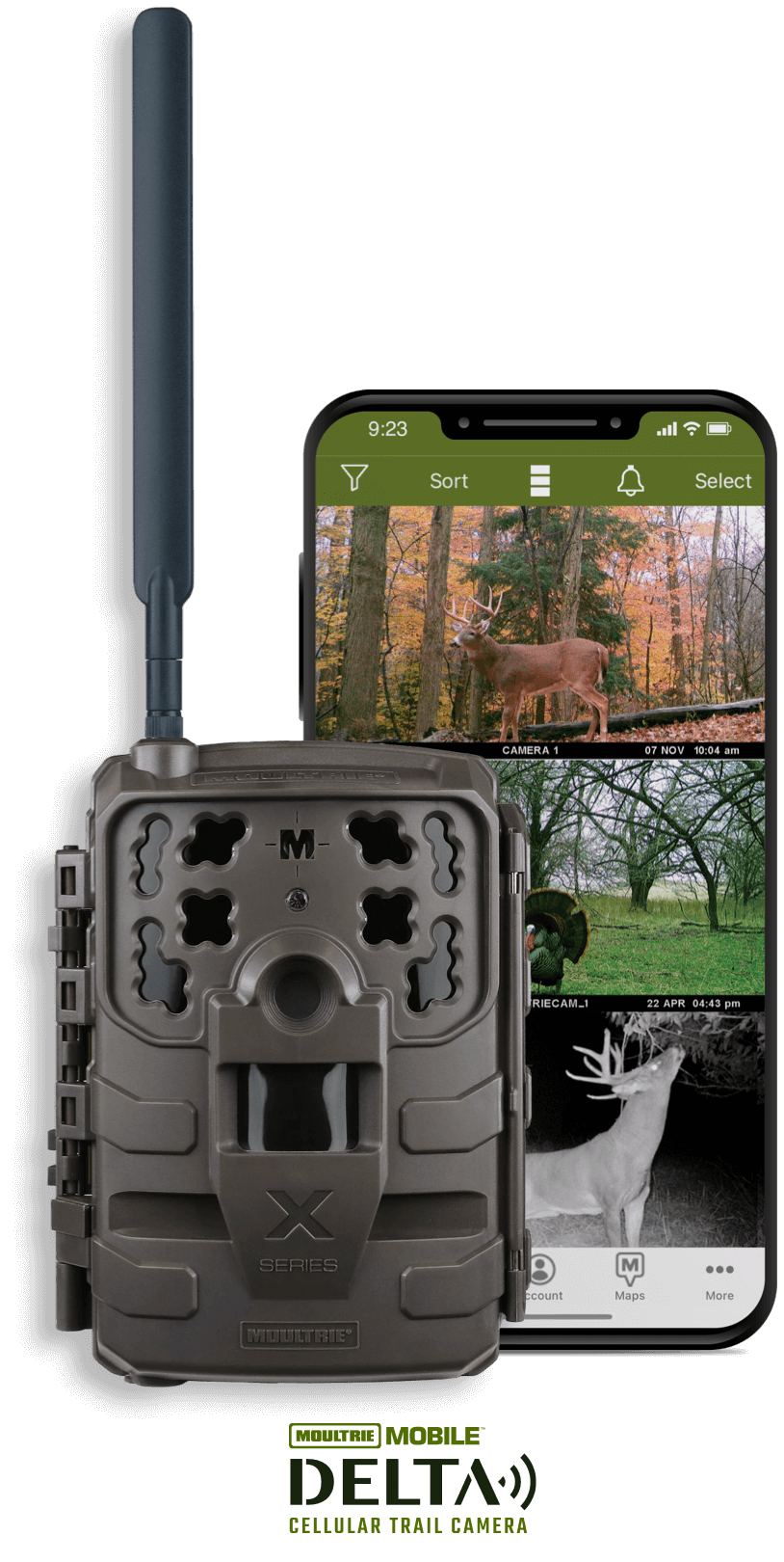 Moultrie Mobile Delta Cellular Trail Camera